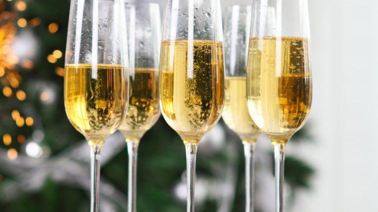 Крымское шампанское занявшее первое место