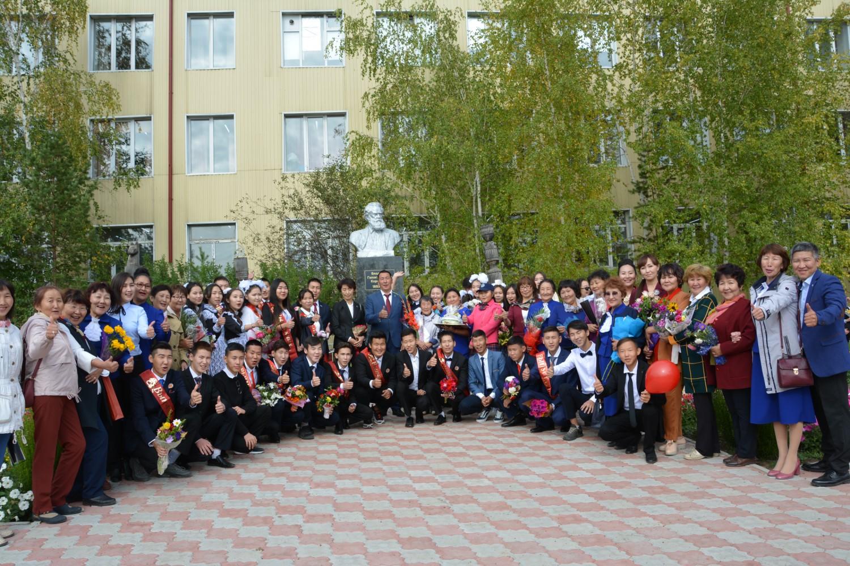 Сквер выпускников школы, посвященный к 150-летию МБОУ «Амгинская СОШ №1 имени В.Г.Короленко»