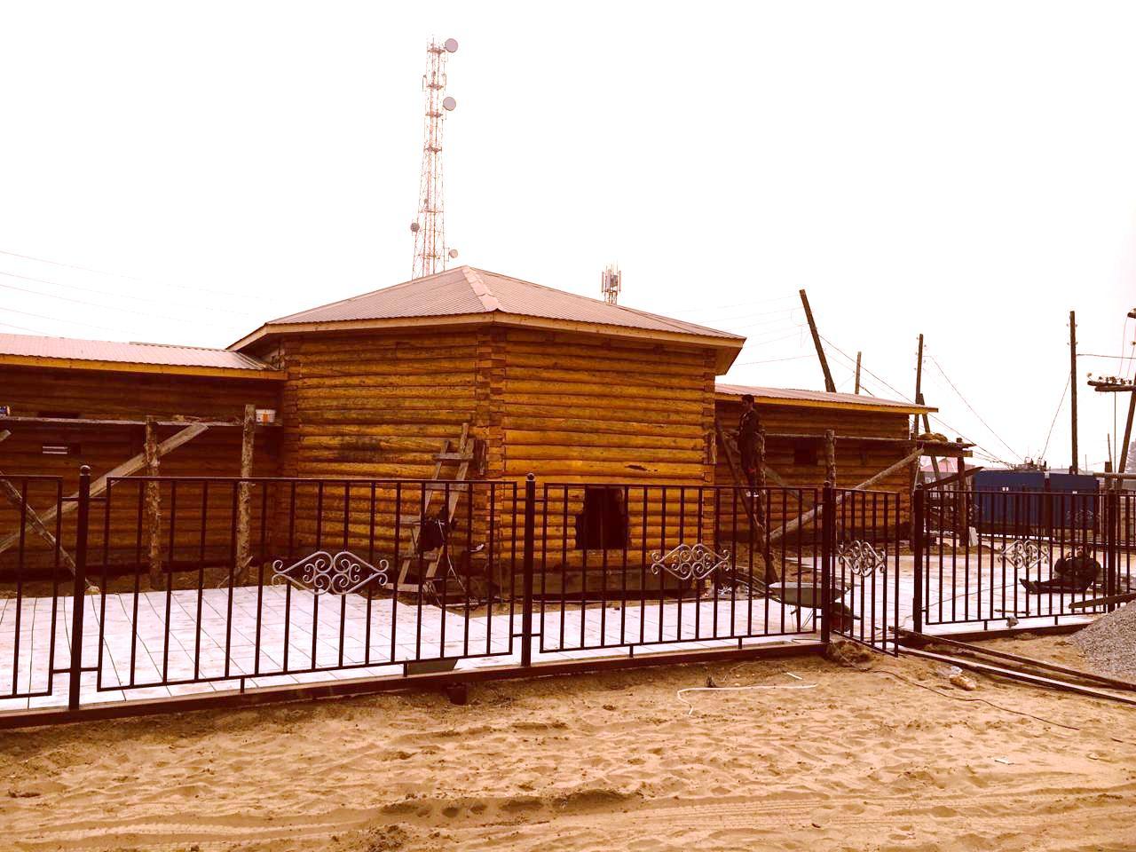 Строительство дома-музея в с. Тит-Эбя